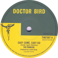 Easy Come Easy Go - Pioneers
