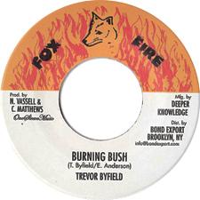 Trevor Byfield - Burning Bush