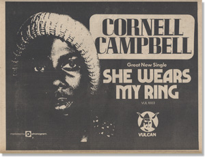 Cornell Campbell UK advert