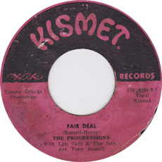 The Progressions - Fair Deal