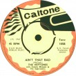 TONE105B - The Heptones - Ain\'t That Bad