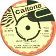 TONE100B - Tony & Doreen with The Skatalites - Just You And I