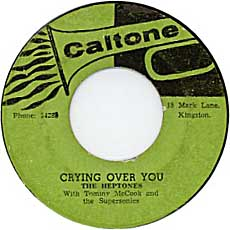 The Heptones - Crying Over You