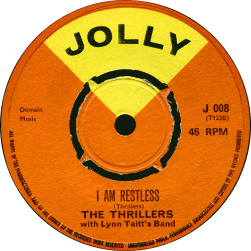 The Thrillers - I Am Restless