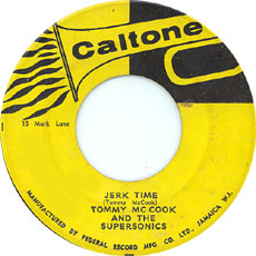 Tommy McCook & The Supersonics - Jerk Time
