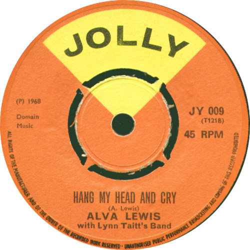 Alva Lewis - Hang My Head And Cry