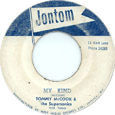 Tommy McCook & The Supersonics - My Kind