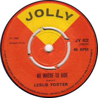 Leslie Foster - Nowhere To Hide