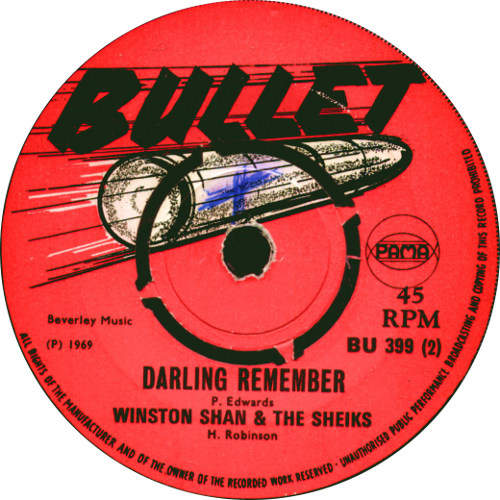 Winston Shand - Darling Remember