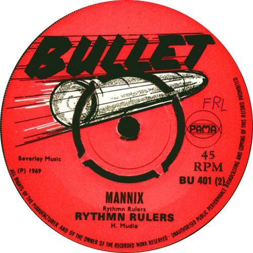Rhythm Rulers - Mannix