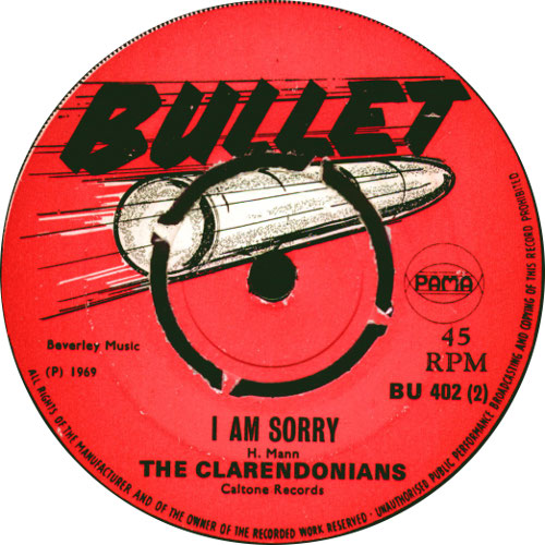 The Clarendonians - I Am Sorry
