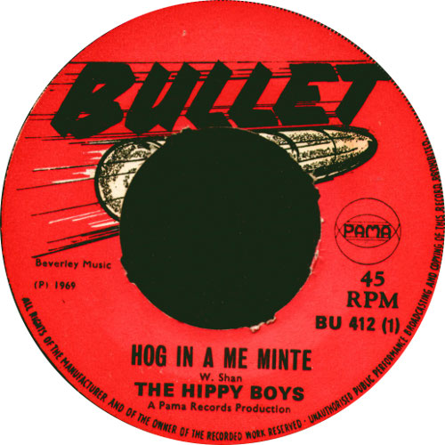 The Hippy Boys - Hog In A Me Minty