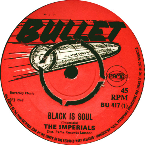 The Imperials - Black Is Soul