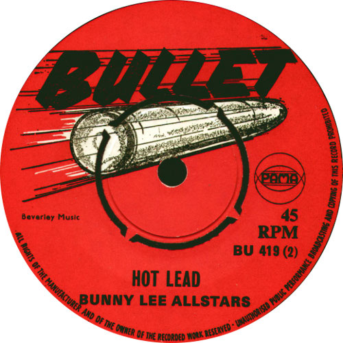 Bunny Lee All Stars - Hot Lead