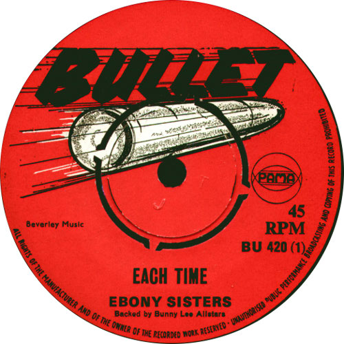 The Ebony Sisters - Each Time