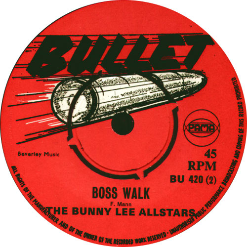 The Bunny Lee All Stars - Boss Walk