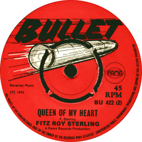 Fitzroy Sterling - Queen Of My Heart