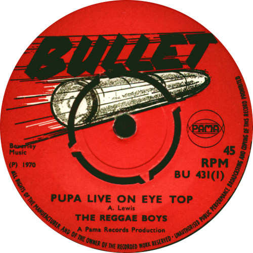 The Reggae Boys - Pupa Live On Eye Top