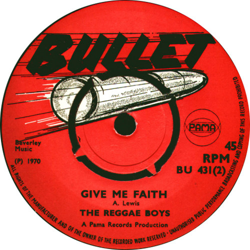 The Reggae Boys - Give Me Faith