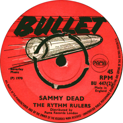 Rhythm Rulers - Sammy Dead