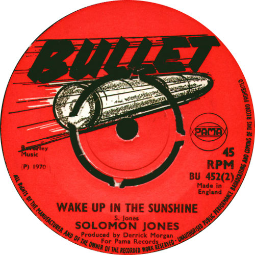 Solomon Jones - Wake Up In The Sunshine