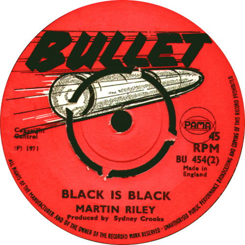 Martin Riley - Black Is Black
