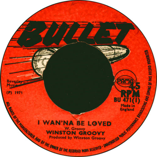 Winston Groovy - I Wanna Be Loved