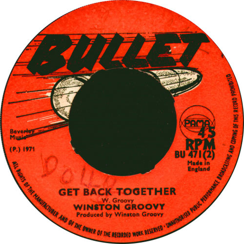 Winston Groovy - Get Back Together