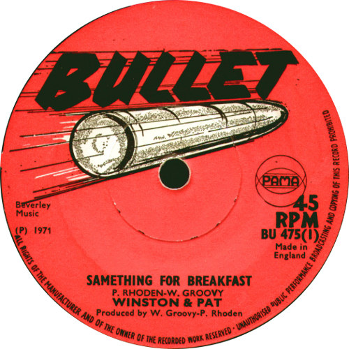 Winston & Pat - The Same Thing For Breakfast