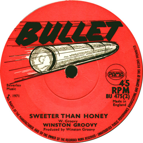 Winston Groovy - Sweeter Than Honey