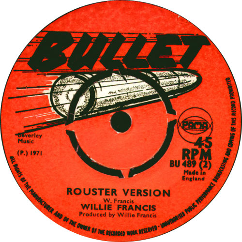 Willie Francis - Rouster Version