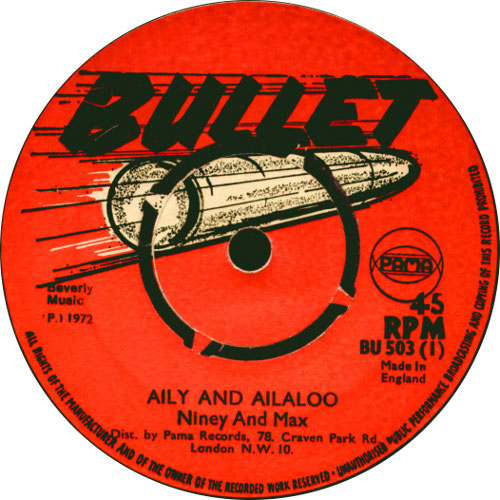 Niney And Max Romeo - Aily And Ailaloo