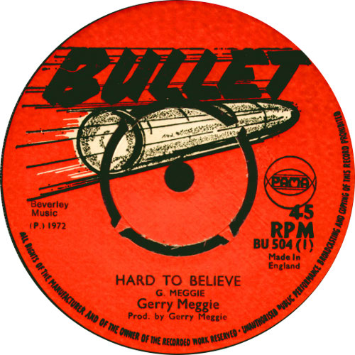 Gerry Meggie - Hard To Believe