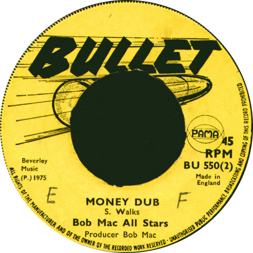 Bob Mack All Stars - Money Dub