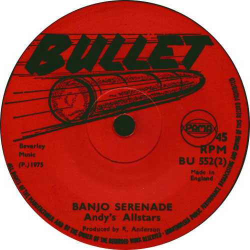 Andy\'s All Stars - Banjo Serenade