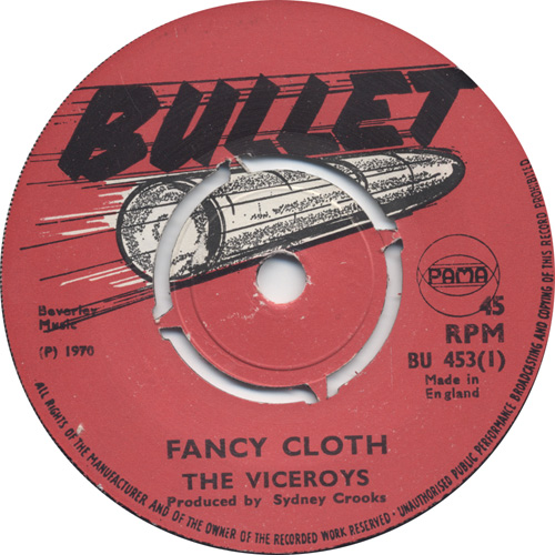The Viceroys - Fancy Cloth