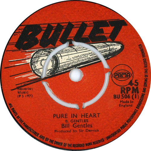 Bill Gentles - Pure In Heart
