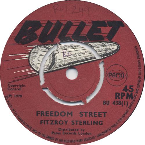 Fitzroy Sterling - Freedom Street