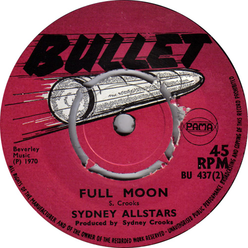 Sidney All Stars - Full Moon
