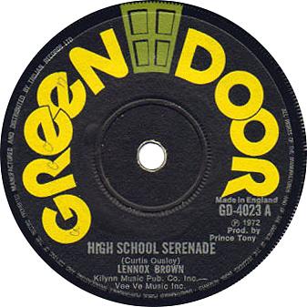 Lennox Brown - High School Serenade