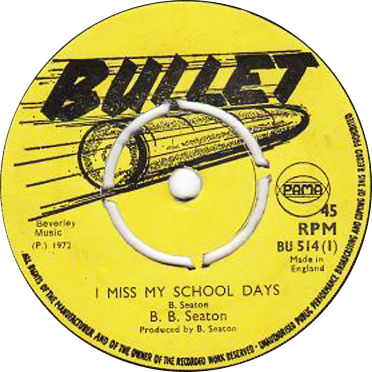 B B Seaton – I Miss My School Days