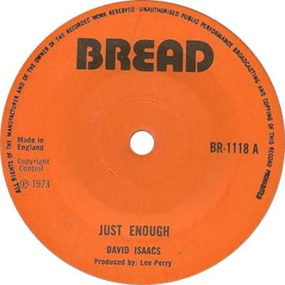 David Isaacs - Just Enough