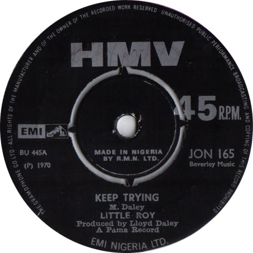 Little Roy – Keep Trying
