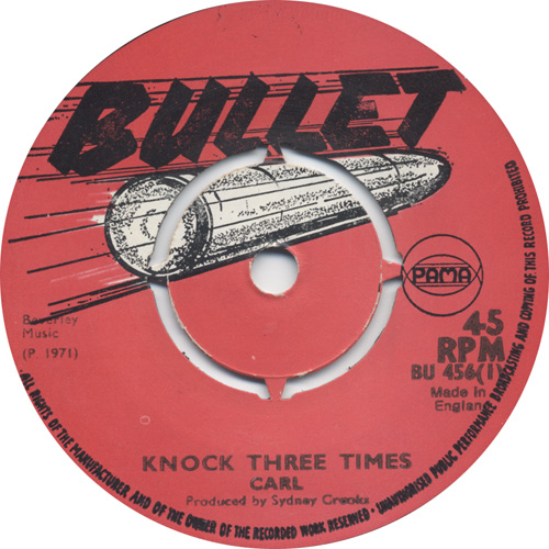 Carl - Knock Three Times