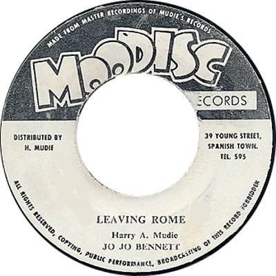 Jo Jo Bennett - Leaving Room