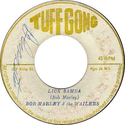 Bob Marley And The Wailers - Lick Samba
