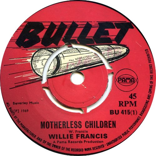 Willie Francis - Motherless Children