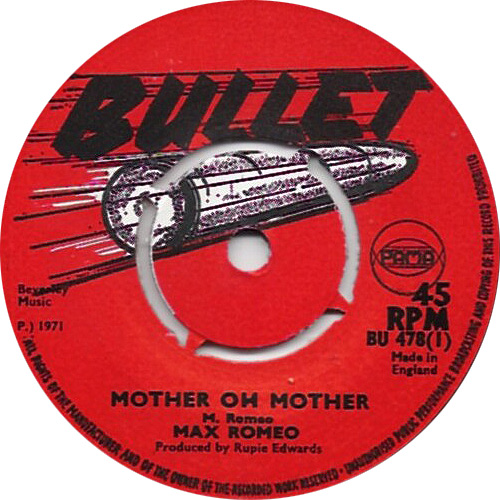 Max Romeo - Mother Oh Mother