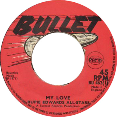 Rupie Edwards\' All Stars - My Love
