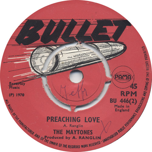 The Maytones - Preaching Love